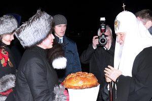В Калининград прибыл патриарх Кирилл