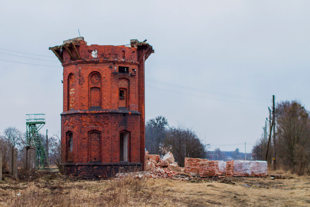 Железнодорожный водонапорные башни