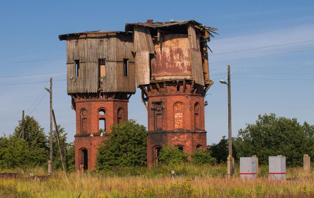 Водонапорные башни стоят на балансе администрации