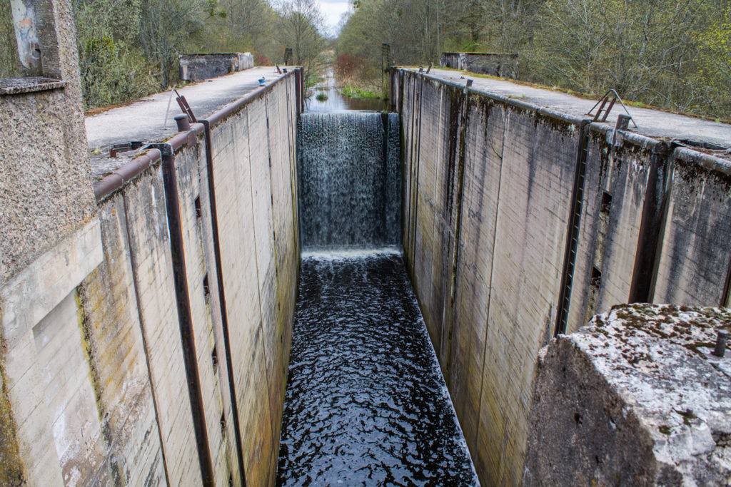 шлюз Мазурского Канала в Озерках