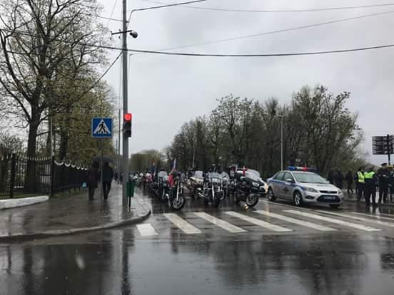Байкеры направились изКалининграда вБранево