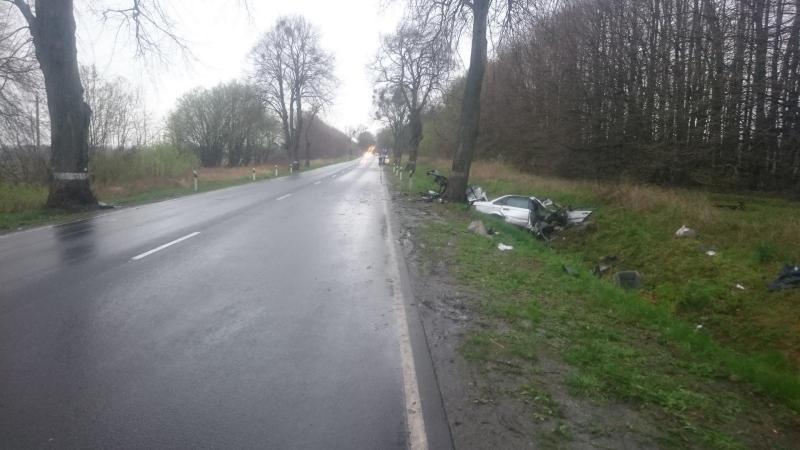 Погибший при столкновении сдеревом шофёр «Фольксвагена» ездил без прав