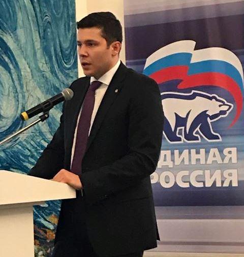 «ЕР» выдвинула Антона Алиханова напост губернатора Калининградской области