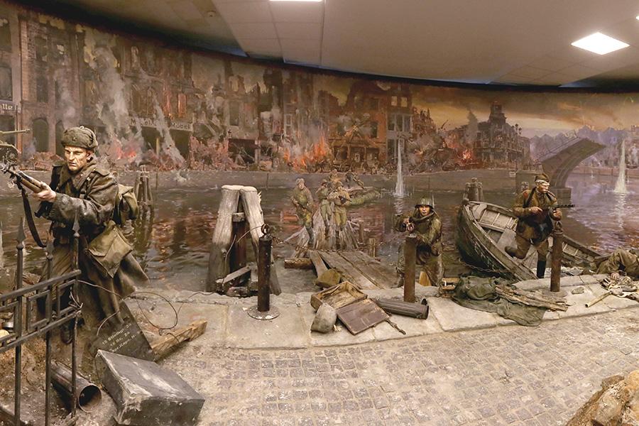 Вкалининградском музее возникла трёхмерная панорама «Кёнигсберг— 45. Последний штурм»