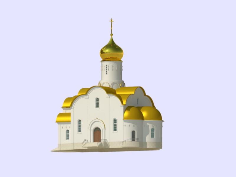 церковь на Левитана стройка
