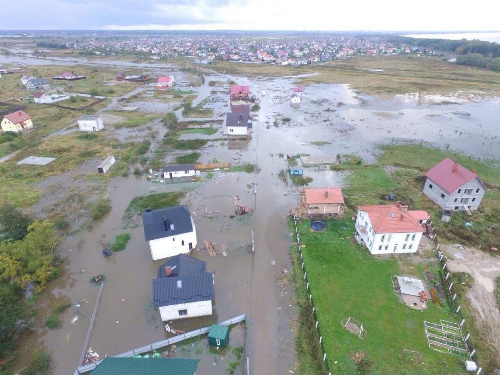 Калининградские власти ввели врегионе режимЧС всвязи ссильными дождями