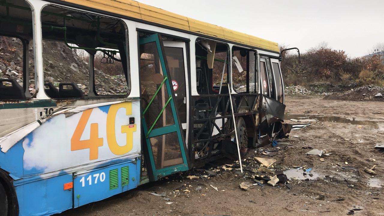 ВКалининграде спецслужбы научениях впервый раз взорвали рейсовый автобус