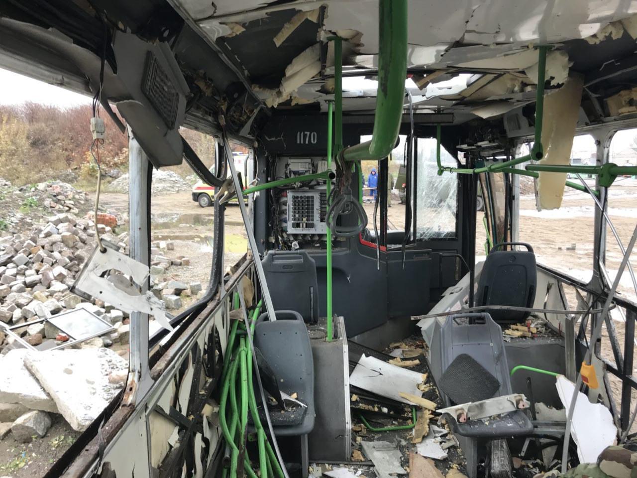 ВКалининграде научениях взорвался автобус сфутбольными фанатами