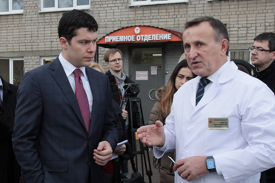 Алиханов в ЦГКБ