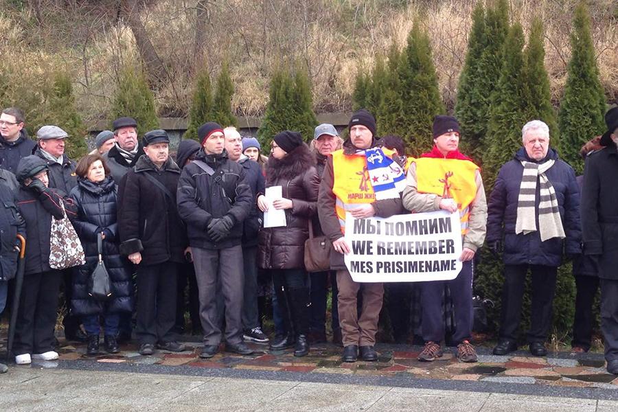 ВКалининградской области почтили память жертв холокоста