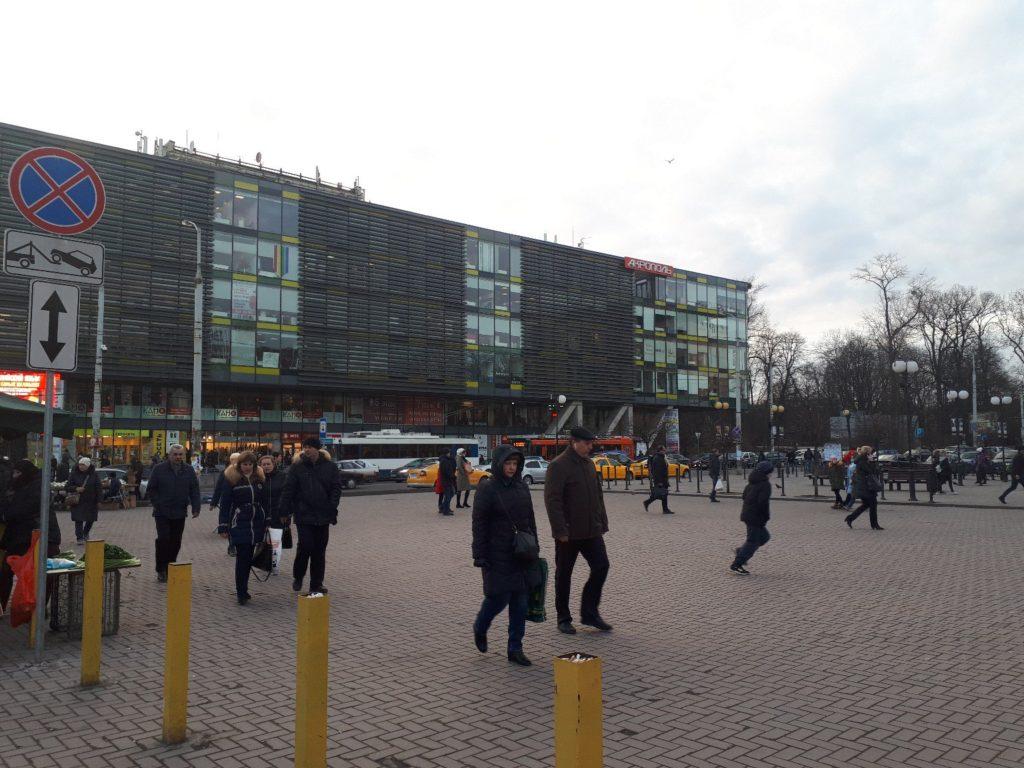 ВКалининграде эвакуировалиТЦ из-за пожарной тревоги