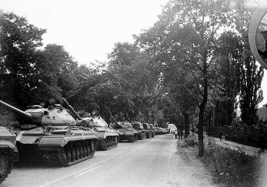 Чехия назвала оккупацией ввод войск СССР исоюзников в 1968-ом