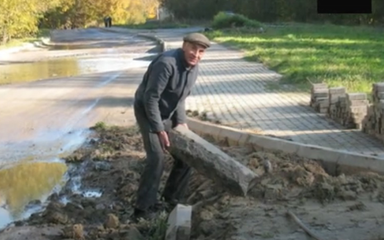 стройка дорога Светлогорск