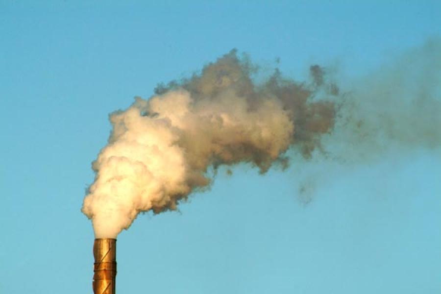 дым из трубы