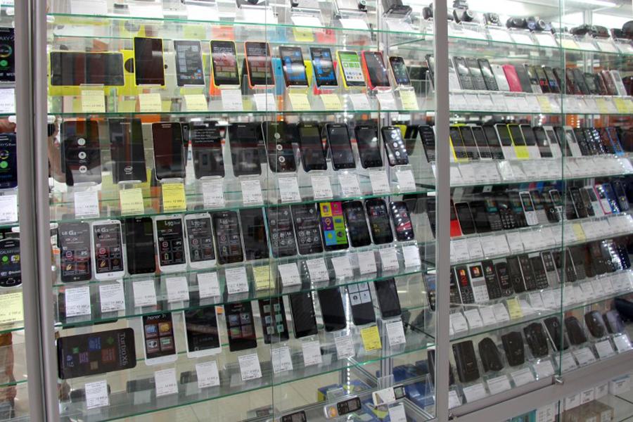 витрина телефоны