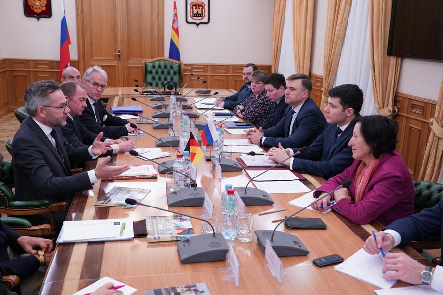 встреча в правительстве