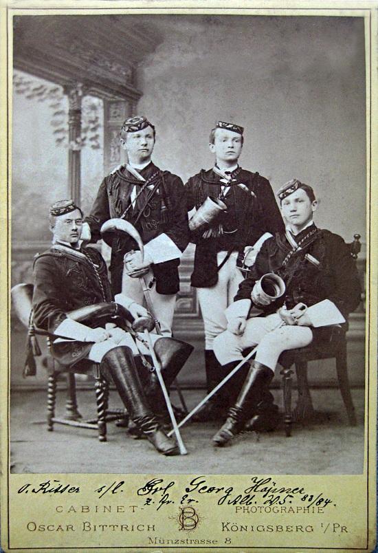бурши-фехтовальщики