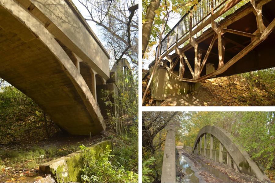 мост на дачной