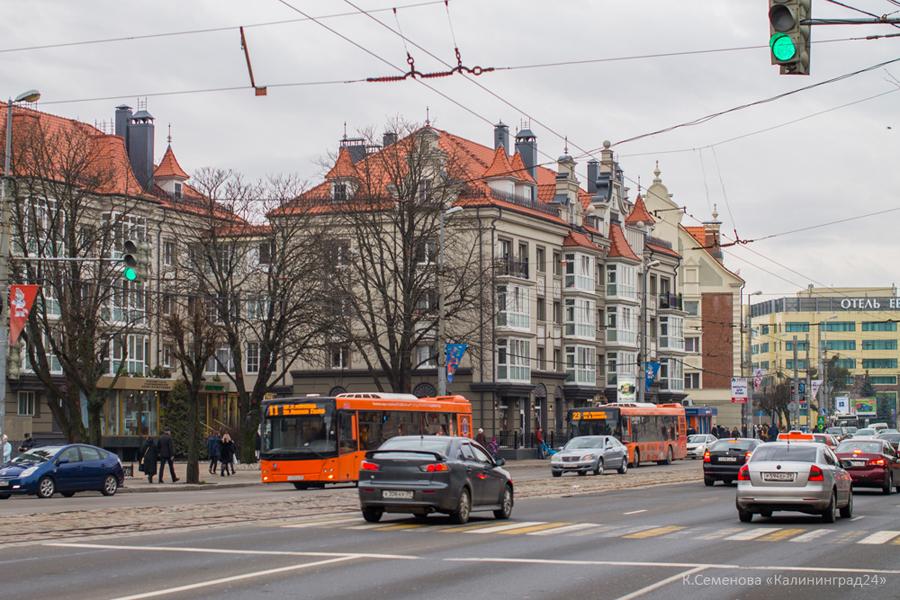 Калининград Ленинский проспект
