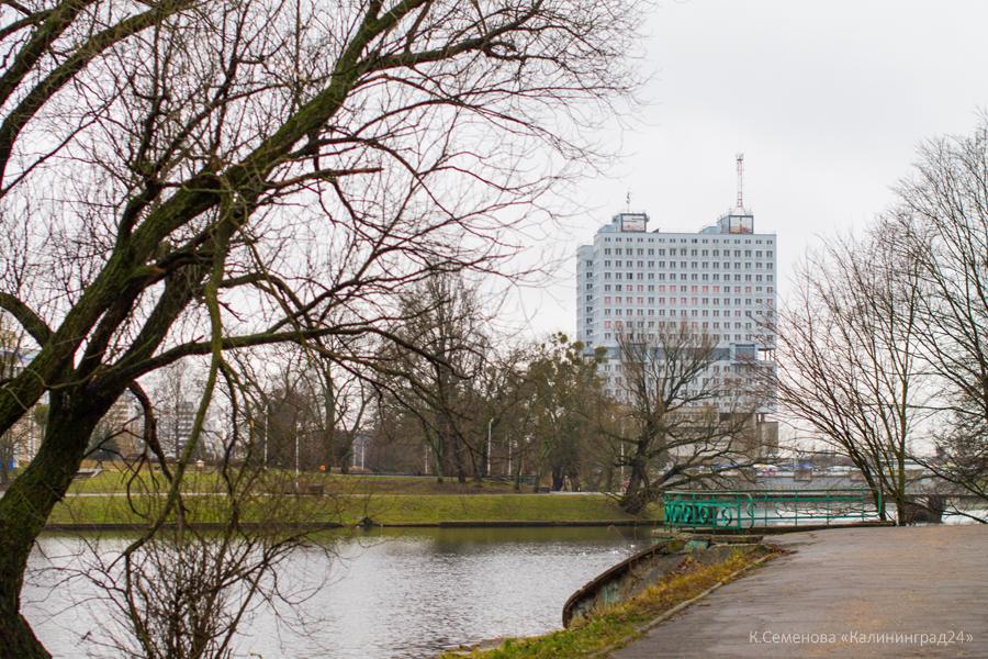 Калининград Нижнее озеро