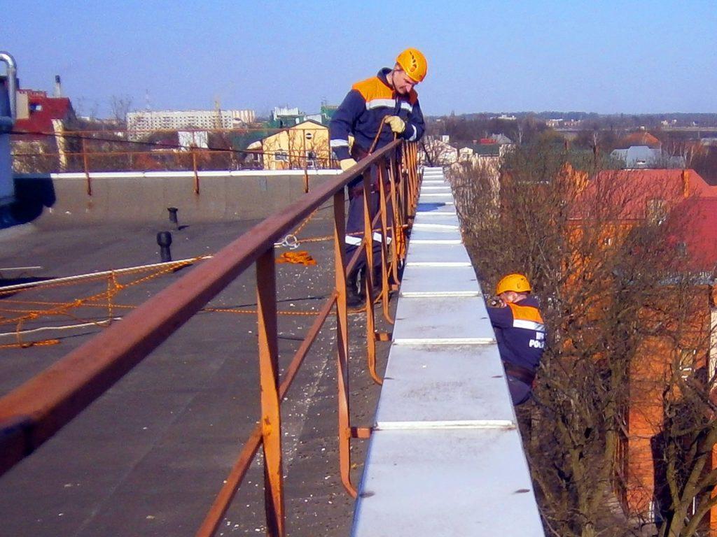 спасатели крыша