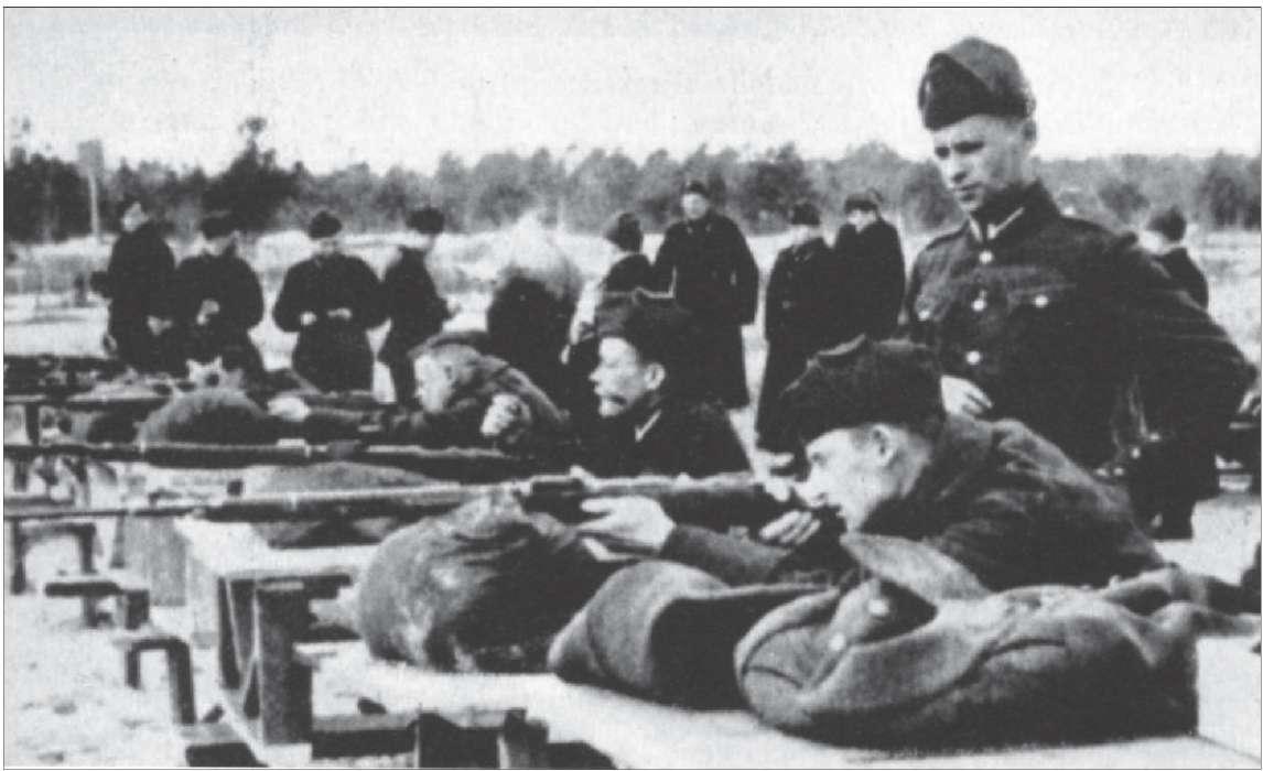 латышские каратели