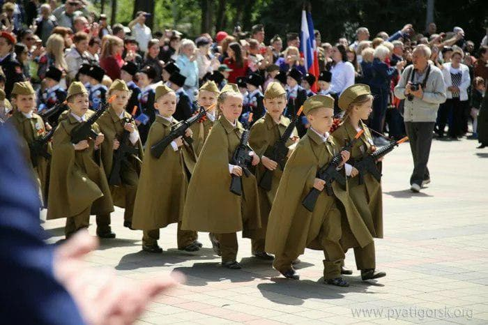 парад дошкольников