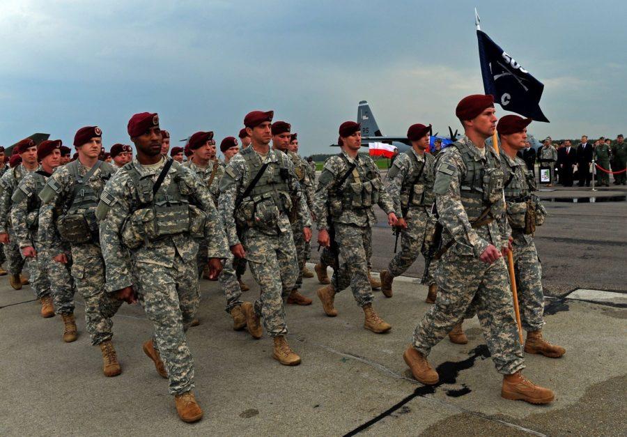 военный контингрент США
